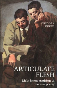 Articulat­e Flesh is about modern poetry in English by Gregory Woods, book cover