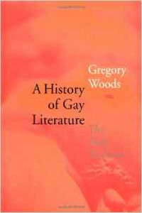 A History of Gay Literature: The Male Tradition by Gregory Woods paperback book cover